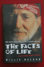 *RARE 1ST ED.* THE FACTS OF LIFE - COLLECTED WRITINGS Willie Nelson (HC/DJ 2003)