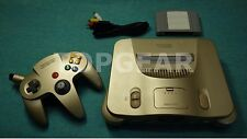 Nintendo 64 console system + N64 controller Gold by TOPGEAR.jp