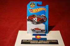Hot Wheels - Mr11 - 2015 Hw City - 66/250 1:64 Red W/White Fenders