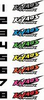 2 POLARIS RMK KHAOS STICKERS PRO RMK GRAPHIC KIT TANK TRUCK TRAILER DECALS