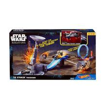 New Hot Wheels Star Wars Rogue one Carships Tie Striker takedown playset DWM92