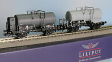 Liliput 230117 -Spur H0- DR Kesselwagen-Set, 2-tlg.., Epoche 3, Lilliput L230117