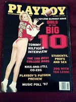 October 1997 playboy magazine complete w/ centerfold free shipping