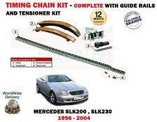 FOR MERCEDES SLK200 SLK230 + KOMPRESS 1996-2004 NEW TIMING CHAIN TENSIONER KIT