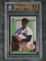 BGS 9.5 Gem Mint Rogers Clemens 1985 Donruss #273 ROOKIE Graded Baseball Card