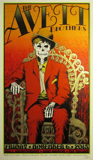 The Avett Brothers 11/6/2015 Poster Ann Arbor MI Signed & Numbered #/225 Sperry