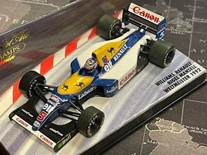 """RARE 1/43 Minichamps Williams Renault FW14 N. Mansell Weltmeister 1992 """"Camel"""""""