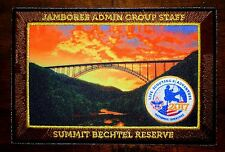 """2017 National Scout Jamboree Administration Group Staff Patch - 4"""" x 6"""""""