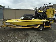 Polar airboats Ice rescue boat Fan boat airboat with 295 Hours Includes Trailer