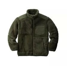 NEW UNIQLO X Engineered Garments Fleece COLLAB Jacket OLIVE GREEN RARE SZ US XS