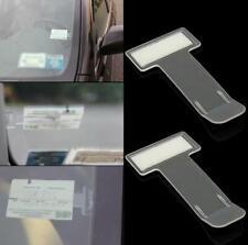 4x Car Parking Ticket Permit Holder Windscreen Window Card Fastener Clips