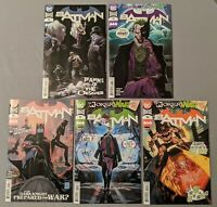 Batman #92 - 96, 5 Issue Comic Lot. Punchline Clownhunter Designer!!