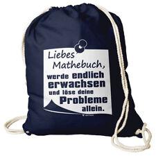 Turnbeutel Sportbeutel Rucksackbeutel Liebes Mathebuch Rucksack Beutel Bunt
