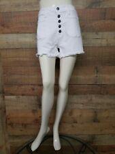 Kenneth COLE Reaction RN81633 White Short Denim Shorts Women's Size 4 NWT