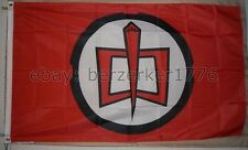 The Greatest American Hero William Katt 1980's 3'x5' Red Flag Banner USA Seller