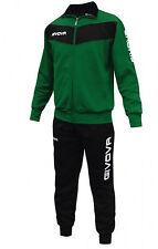 Givova Visa Tuta da ginnastica Uomo Multicolore (nero/verde) L (s1j)