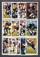 1995 Topps Oakland Raiders TEAM SET