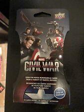 2016 Upper Deck Captain America Civil War Hot Pack Costume/Dual/Triple/Quad/Auto