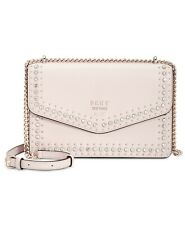 DKNY BEDFORD-WRISTLET Leather studded Shoulder Bag MSRP $248.00