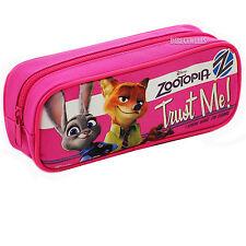 Disney Zootopia Authentic Licensed Good Quality Pink Pencil Case