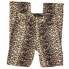 Guess Jeans Georges Marciano Cheetah Leopard Womens 28 Retro 90s Usa Vintage