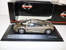 Minichamps McLaren F1 GTR platinum grey REF 133437