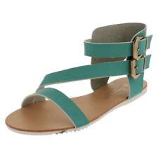 39 Scarpe da donna cinturini alla caviglia verde
