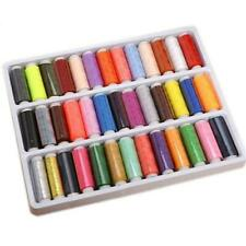 39PCS/Set Assorted Colorful Polyester Sewing Thread Spools for Manual Embroidery
