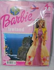 Ireland Irish Discover World With Barbie BOOK + COSTUME Never Released US New