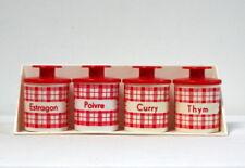 Etagère et pots à épices rétro vintage jouet imitation dînette