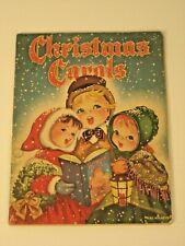 Vintage 1942 Whitman Christmas Carols Book Karl Schulte Good Used