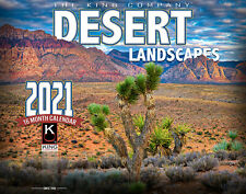 2021 Desert Landscape Wall Calendar by The KING Company (free shipping)