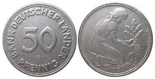 J379  50 Pfennig Bank deutscher Länder  1950 G in SS 1502008