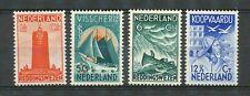 Nederland  257 - 260 ongebruikt