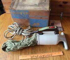 Vintage 1958 Hoover Dustette Model 2720 Hand Vacuum Cleaner w/ original box