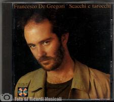 FRANCESCO DE GREGORI - SCACCHI E TAROCCHI PD 70845 **RARO** 1985 **COME NUOVO**