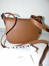 Coach SMALL 1941 Saddle Glove Tanned Leather Saddle Bag Shoulder Cross-body Bag1