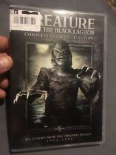 The Creature From The Black Lagoon: The Legacy Collection (DVD, 2014, 2-Disc Se…