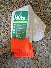 NEW FOX BUCK JR. WOOL BLEND HEAVY DUTY RAG SOCKS SOX SIZE 7-11 HIKING HUNTING