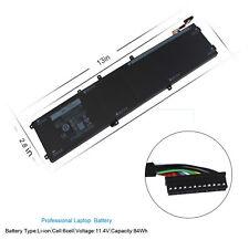 New 84W 1P6KD 4GVGH Battery for Dell Precision 5510 XPS 15 9550 15-9550-D1828T