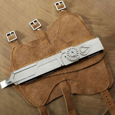 Assassin's Creed Stainless Steel Hidden Blade + Barcer Props COSPLAY Games Model
