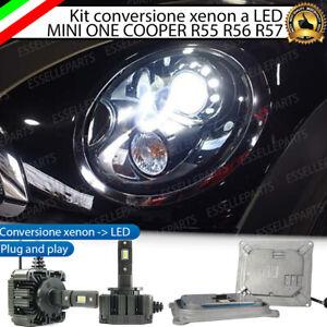 KIT LED D1S CONVERSIONE XENON LED MINI ONE COOPER R55 R56 R57 R52 FARI ADATTIVI