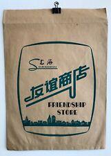 Vintage Poster Shanghal Paper Bag