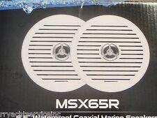 SPEAKERS MARINE STEREO JENSEN SPEAKERS WATERPROOF 6-1/2 BOAT YACHT  MSX65R PAIRS