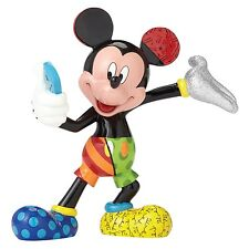 Disney Britto Showcase Mickey Mouse Taking A Selfie Resin Figurine Hand Painted