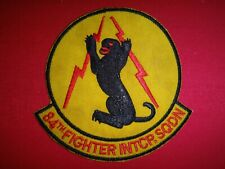 USAF Air Force 84th FIGHTER INTERCEPTOR SQUADRON Patch
