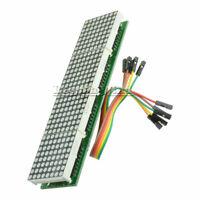 MAX7219 Microcontroller 4 In 1 Blue LED Line Dot Matrix Module For Arduino