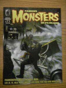 FAMOUS MONSTERS OF FILMLAND MAGAZINE ISSUE #71 SEPTEMBER 2011 VF FRANKENSTEIN