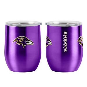 Baltimore Ravens NFL 16 oz Ultra Curved Stemless Tumbler