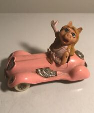 Vintage Miss Piggy Corgi Die Cast Vehicle Pink Convertible Toy Car 1979 Muppets